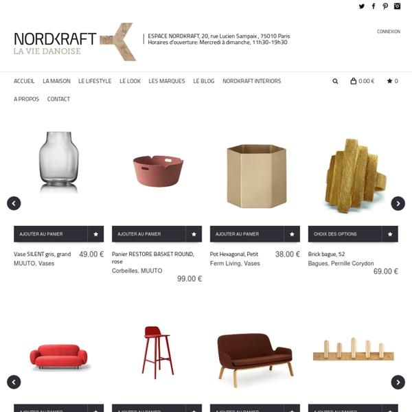 Concept store online autour de l'art de vivre Danois