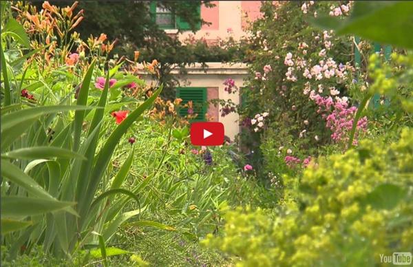 Vidéo: le Jardin de Claude Monet à Giverny