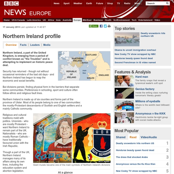 North Ireland profile - Overview