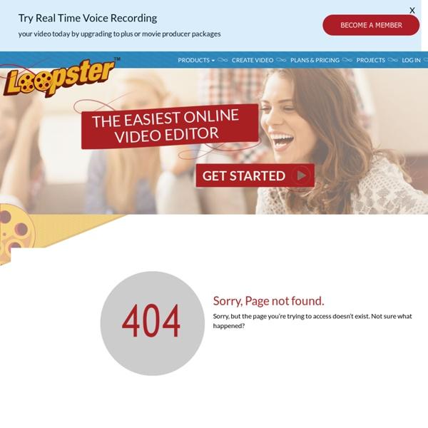 Loopster: video editor