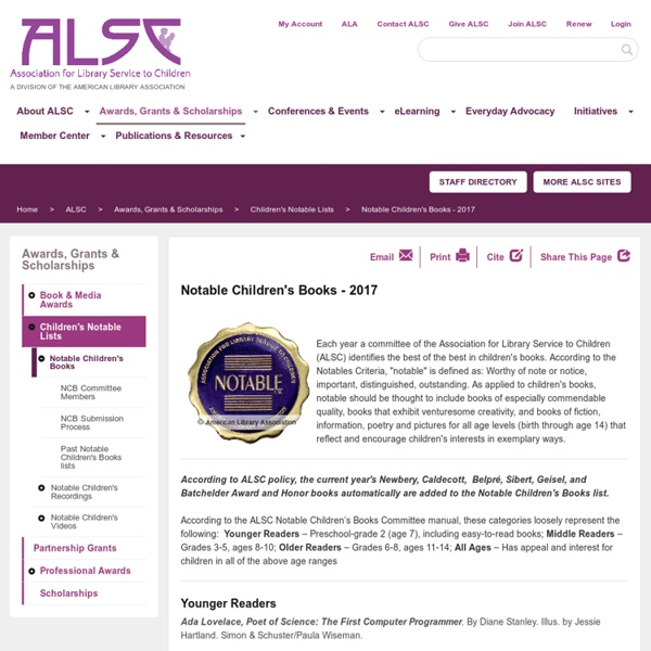 Association for Library Service to Children (ALSC)