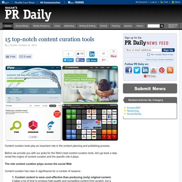 15 top-notch content curation tools