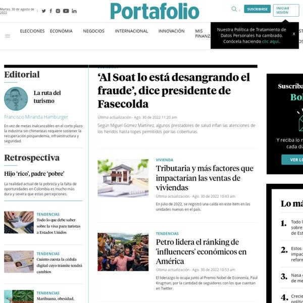 Noticias de Economía y Negocios en Colombia y el Mundo