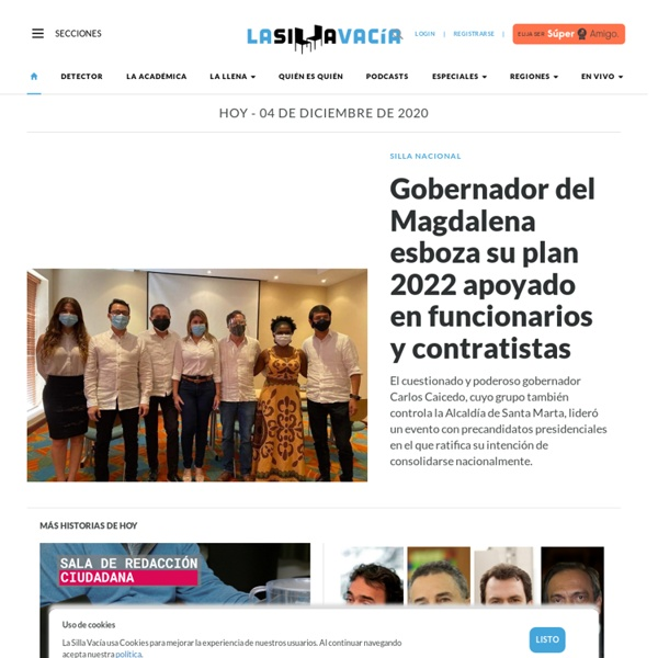Noticias, historias, debate, blogs y multimedia sobre el poder en Colombia