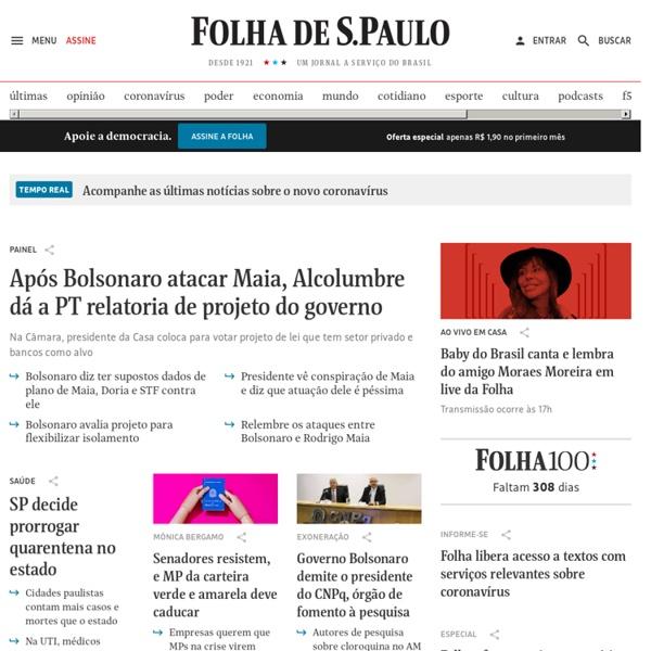 Folha de S.Paulo - Jornal on-line com notícias, fotos e vídeos
