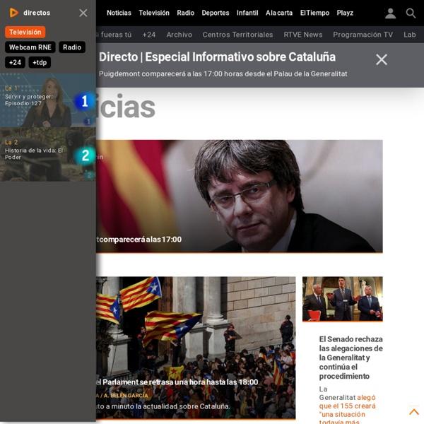 Noticias última hora, programas y series de Radio Televisión Española - RTVE.es