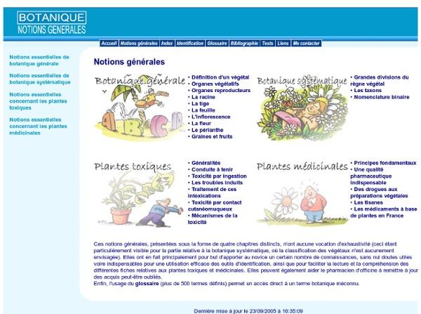 Notions essentielles de botanique : Index