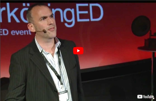 Labels limit learning: James Nottingham at TEDxNorrkopingED