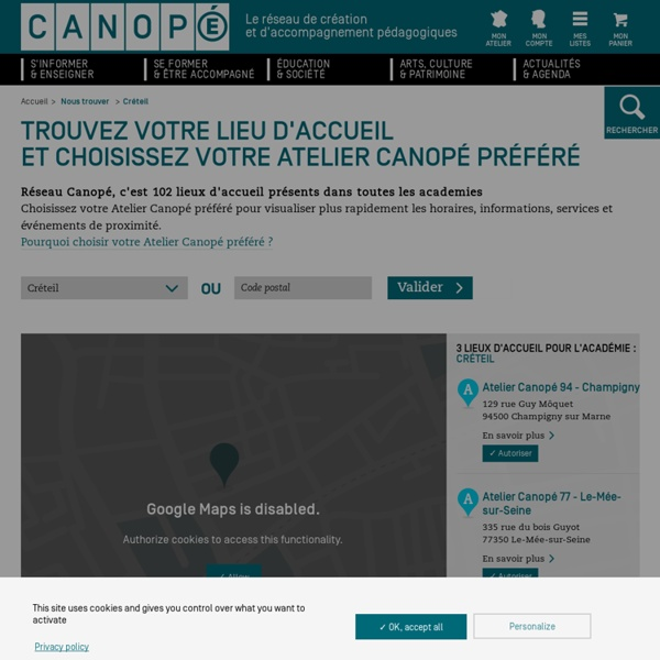 Canopé Créteil - Kit pédagogique pour les référents numériques