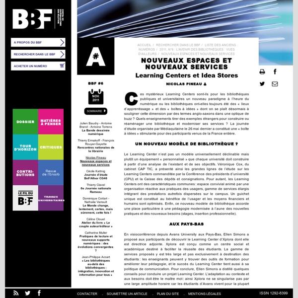 Bibliothèques - Vision BBF