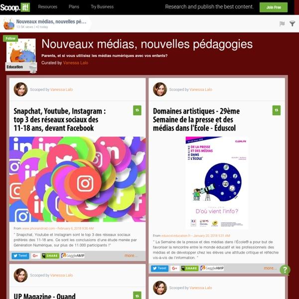 Nouveaux médias, nouvelles pédagogies