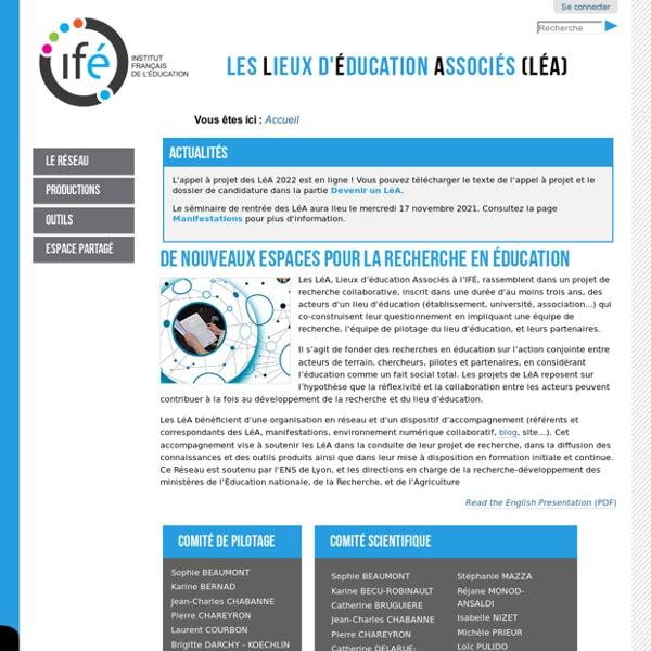 École Freinet - Vence (06) — Site de l'Institut Français de l'Education