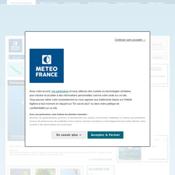 Météo Nouvelle-Calédonie - Accueil