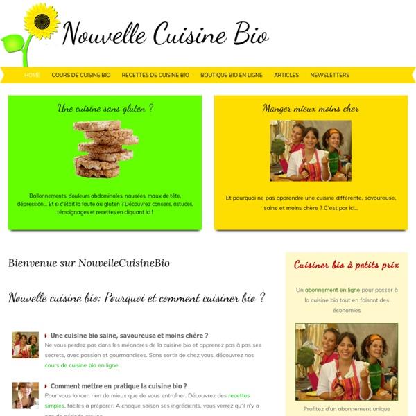 Nouvelle cuisine bio
