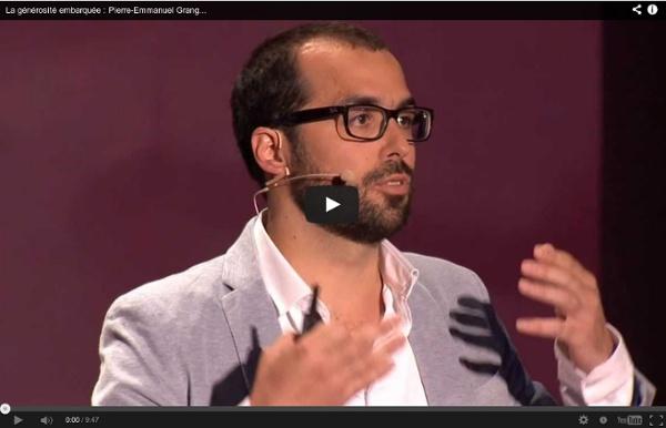 """Le micro-don, la nouvelle générosité ? - Pierre-Emmanuel Grange à TEDxParis 2013 """"Ça marche !"""""""