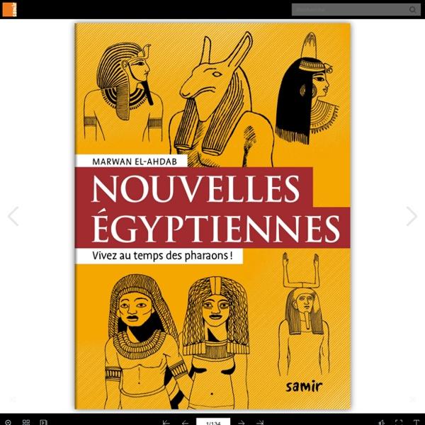 Nouvelles égyptiennes - Nouvelles antiques
