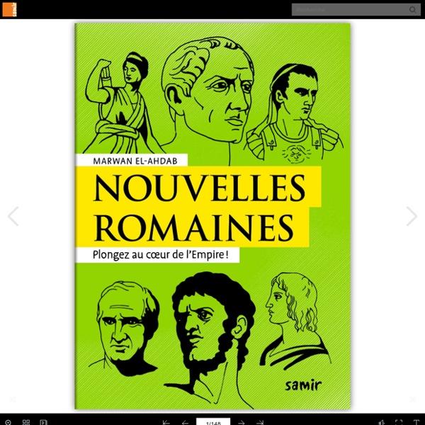 Nouvelles romaines - Nouvelles antiques