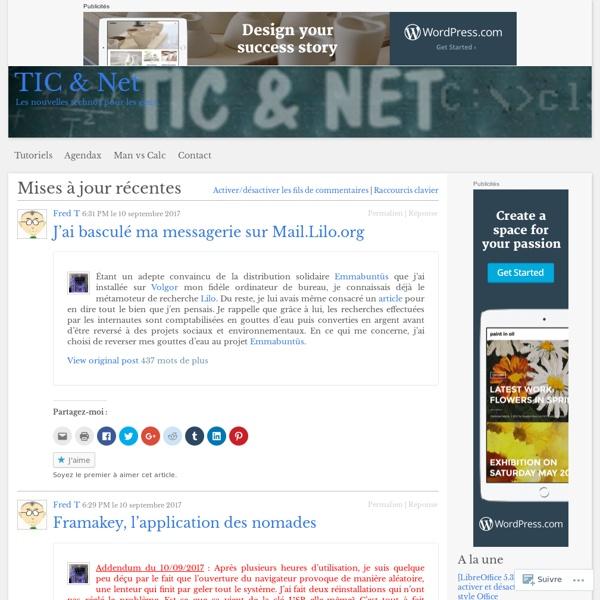 TIC & Net Charge de mission IUFM Nord pas de Calais