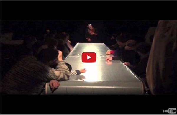 Le Repas/ 3 d'après Valère Novarina au théâtre du Galpon 2012