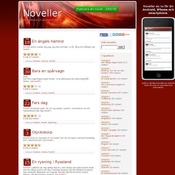 Deckare « Noveller.eu