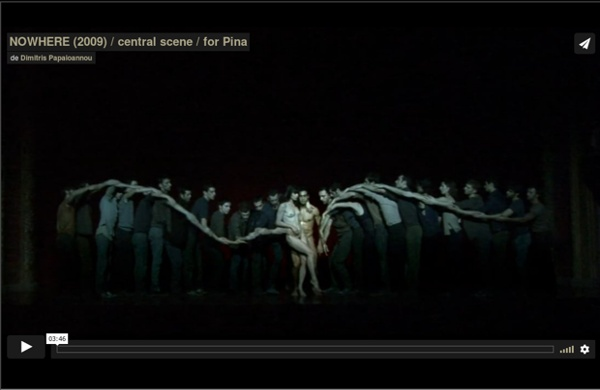 NOWHERE (2009) / central scene / for Pina