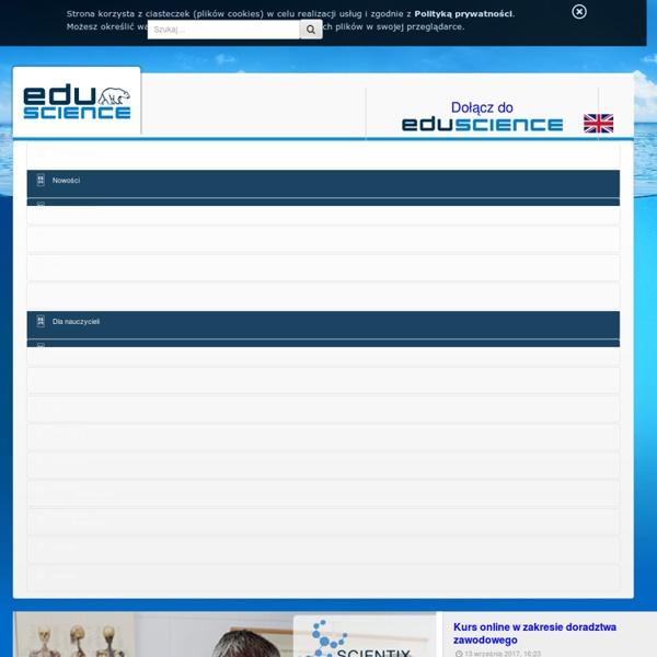 Nowości - Portal EDUSCIENCE