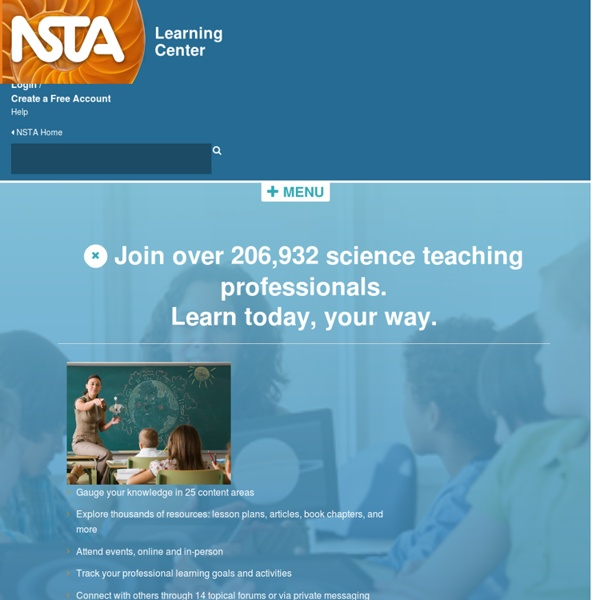 NSTA Learning Center