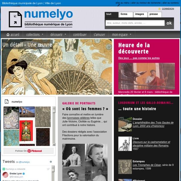 Bibliothèque numérique de Lyon