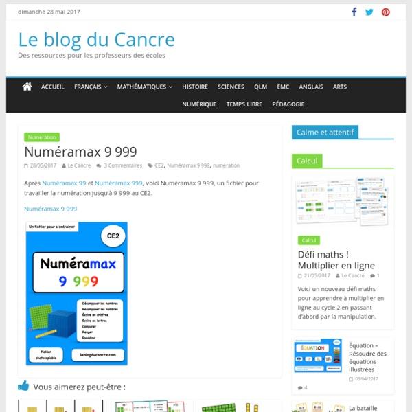 Numéramax 9 999 – Le blog du Cancre