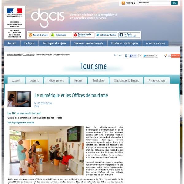 Le numérique et les Offices de tourisme