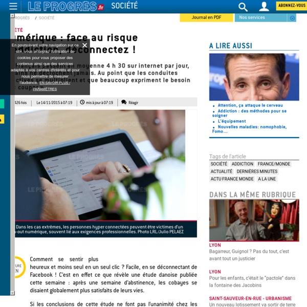 Numérique : face au risque d'addiction, déconnectez !