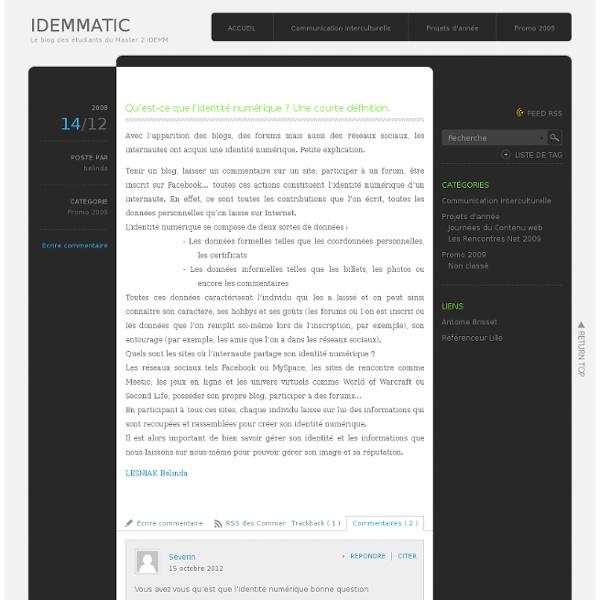 Qu'est-ce que l'identité numérique ? Une courte définition.