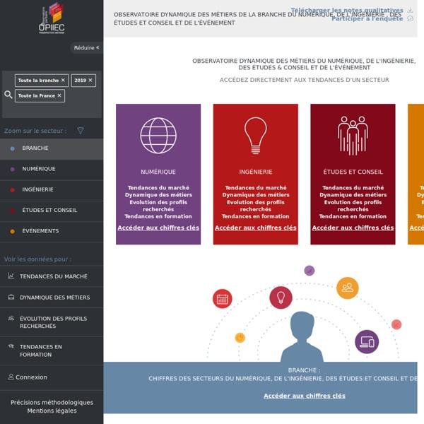OPIIEC - Données GPEC, Numérique, Ingénierie, Etude&Conseil et Evénement
