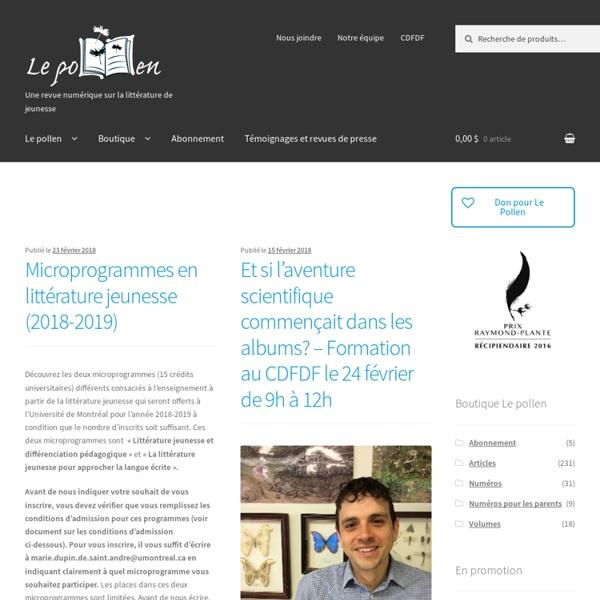 Centre de diffusion et de formation en didactique du français