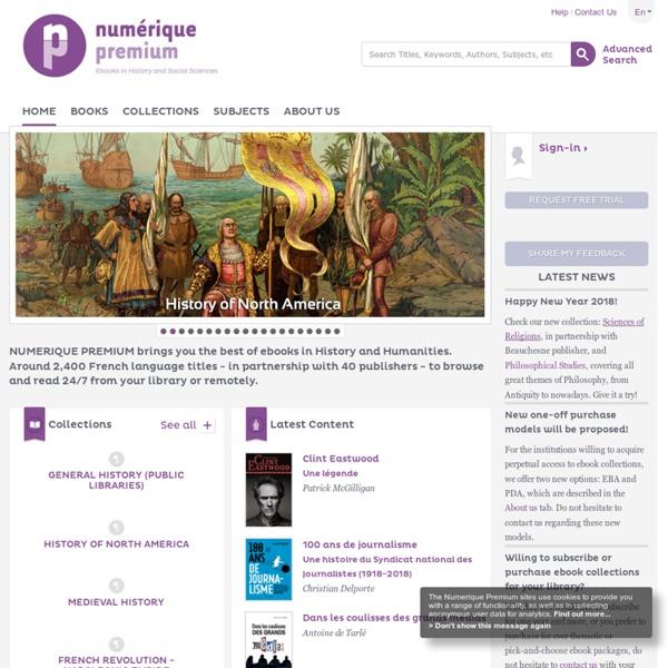 Numerique Premium - home page