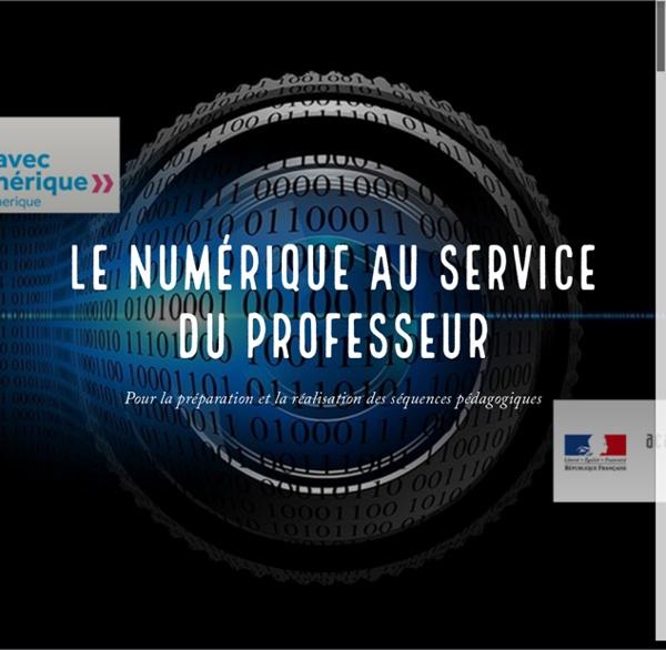 Le numérique au service du Professeur