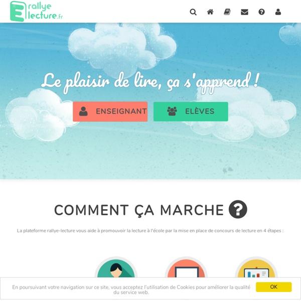 Rallye lecture en ligne – vos rallyes lecture numériques personnalisés
