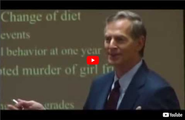 Nutrition et comportement, Dr Russell Blaylock