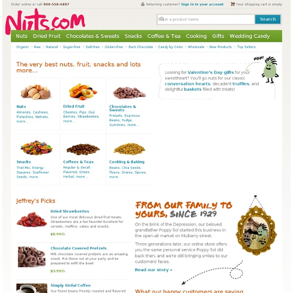 Premium Bulk & Wholesale Nuts, Dried Fruits & Gift Baskets