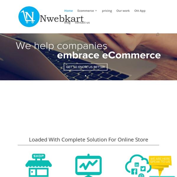 Nwebkart- Creates Online store