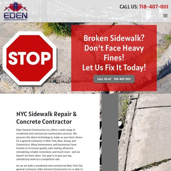 NYC Sidewalk Repair