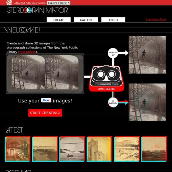 NYPL Labs : Stereogranimator