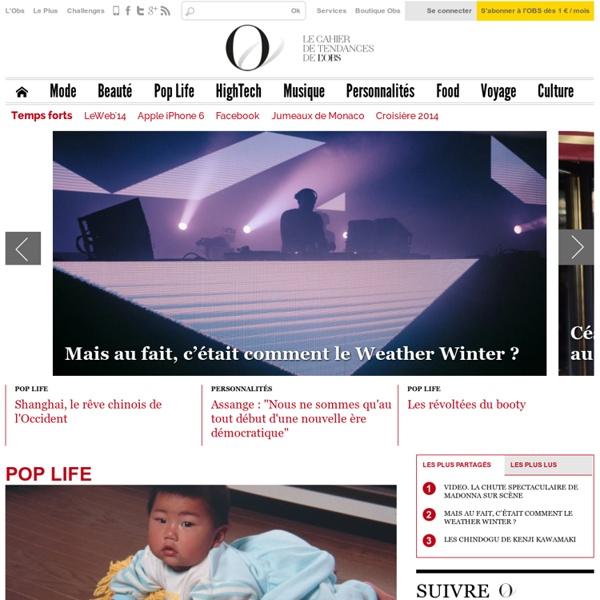 Obsession, le nouveau site Mode, Tendances et Culture du Nouvel Observateur