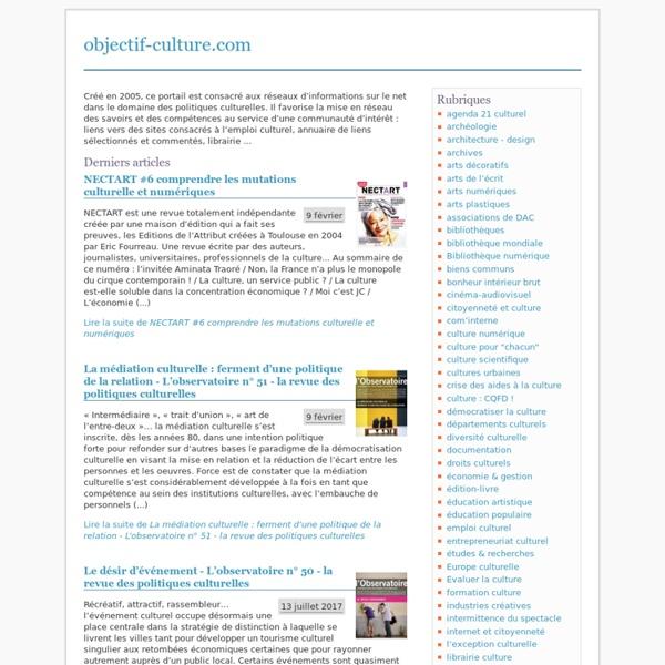 Objectif-culture.com