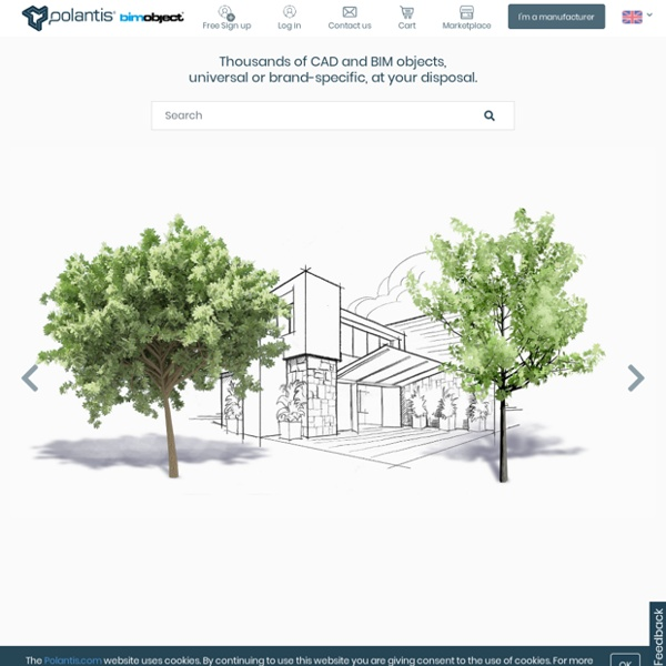 Polantis - 3D Catalog technology - Free CAD objects for architects