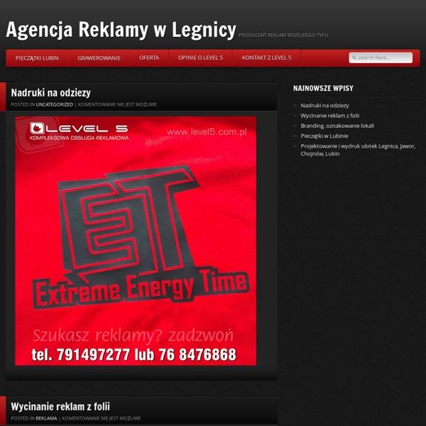 Obsługa reklamowa firm w Legnicy.