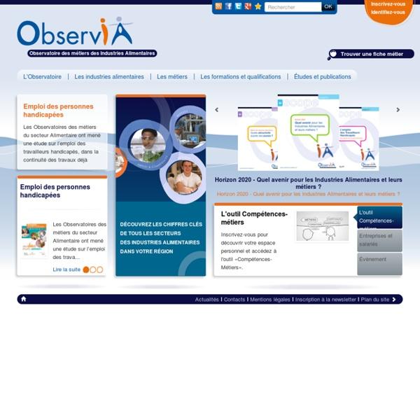 Accueil - Observatoire des métiers des Industries Alimentaires