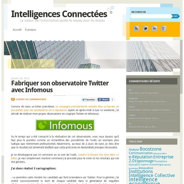 Fabriquer son observatoire Twitter avec Infomous