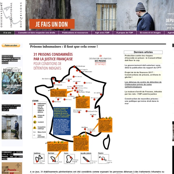 Observatoire International des prisons