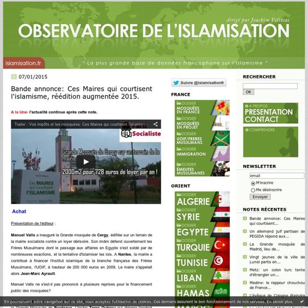 Observatoire / islamisation
